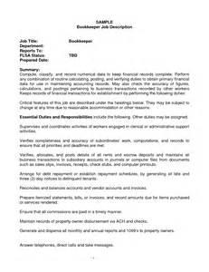 resume objective for entry level engineer job 27 best bookkeeper resume for job description vntask com