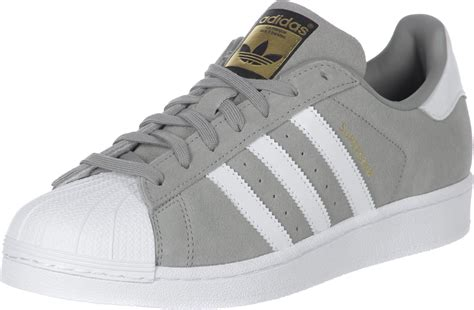 adidas Superstar Suede shoes grey
