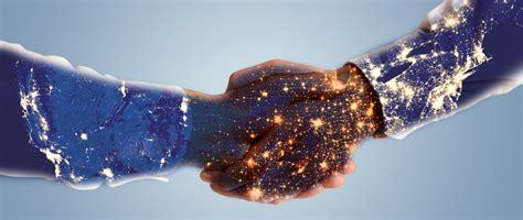 handshake background banner business cooperation business