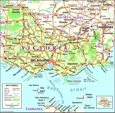 victoria map