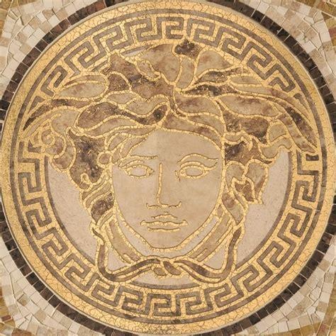 Mosaic ancient rome floor tile texture seamless 16409