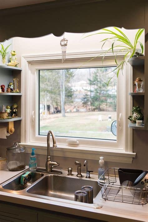 clean    awning window   kitchen sink modern kitchen sinks kitchen sink decor