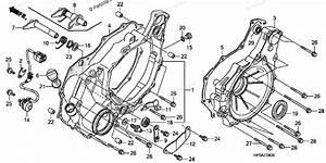 Honda Atv 2007 Oem Parts Diagram For Rear Crankcase Cover