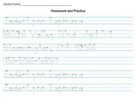 print handwriting practice worksheets