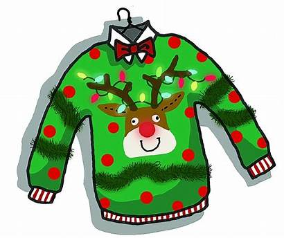 Ugly Sweater Clipart Jumper Transparent Sleeve Holiday