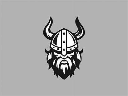 Viking Dribbble Branding Vikings Agency 4x Beard