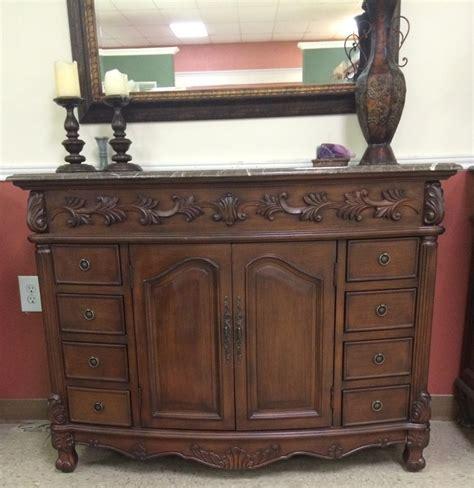 45inch Sink Vanity   Utah Sink Vanity   Brown Marble Vanity