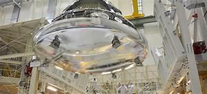NASA's Orion crew module looks like a liquid metal alien ...