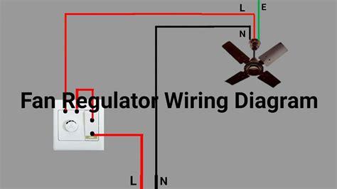 fan regulator wiring diagram