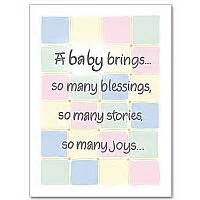 Angel Song Gift of God: Baby Congratulations