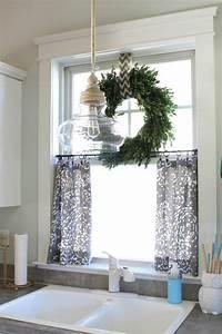 Fenster Gardinen Küche : 35 bastelideen f r fenster weihnachtsdeko deko fenster k che k che fenster und gardinen k che ~ Yasmunasinghe.com Haus und Dekorationen