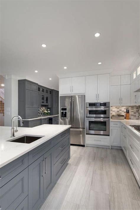 22+ Breathtaking Kitchen Interior Grey Modern