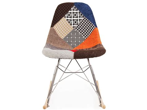 chaise eames patchwork eames rsr patchwork
