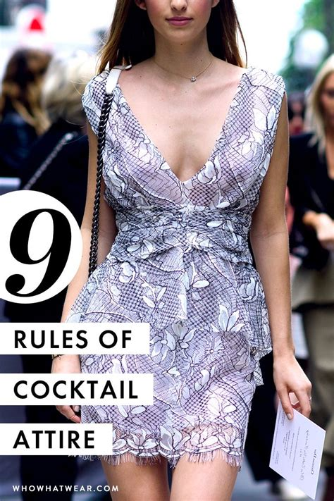 The Official Dos And Don'ts Of Cocktail Attire For Women