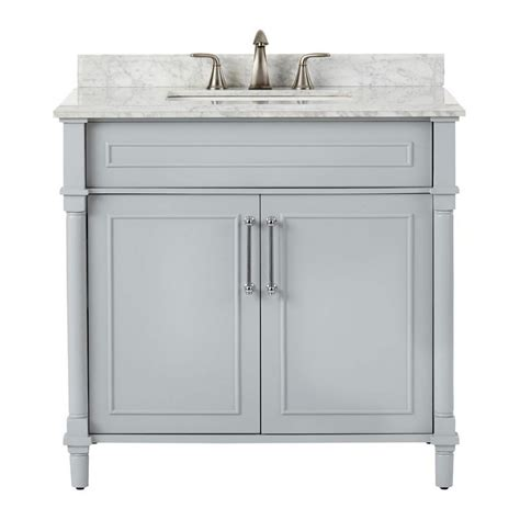 home decorators vanity home decorators collection aberdeen single vanity 1655