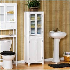 Bathroom Towel Storage Cabinet