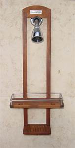 teak shower caddy bathroom accessories pinterest With bathroom caddies accessories