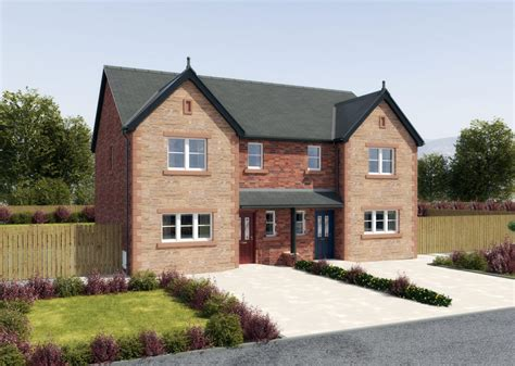What Does Detached House - 3 bedroom semi detached house with extensive rear garden