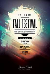 Fall Festival Flyer By Stylewish  Buy Psd File