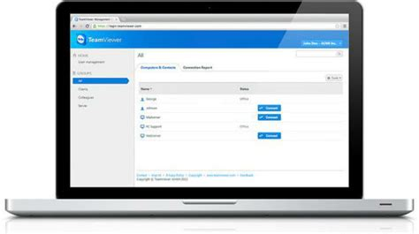 Teamviewer Console by Teamviewer Management Console Sale De La Versi 243 N Beta