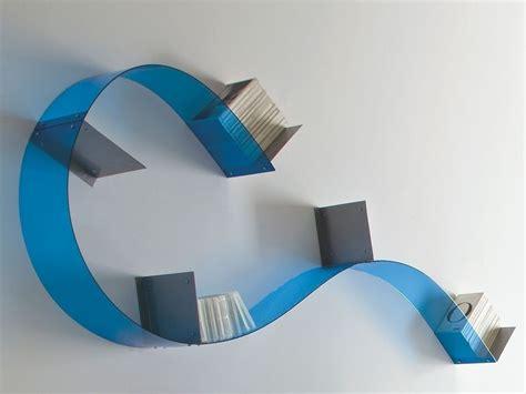 mensole parete coppia mensole adam da parete flessibili e componibili in