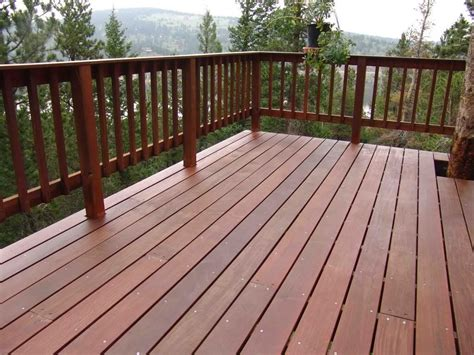 simple deck railing designs  post caps
