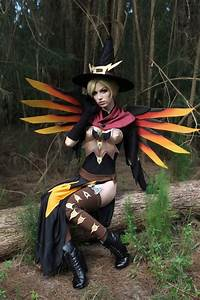 Overwatch Witch Mercy Cosplay By Megan Coffey AiPT