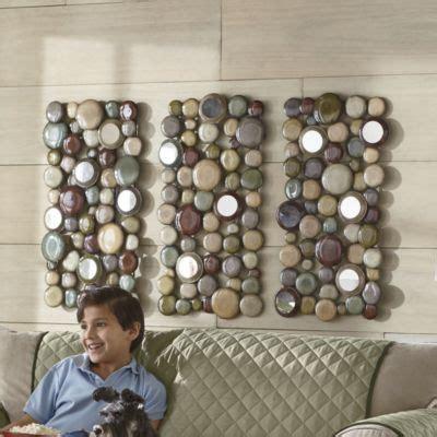seventh avenuecom shimmering pebbles wall decor home