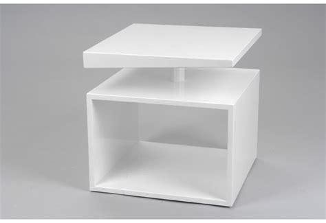 bout de canapé blanc bout de canapé moderne laqué blanc amadeus amadeus 15991