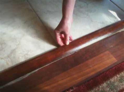 vinyl laminate flooring tmolding transition