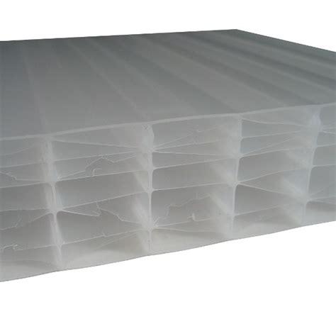 plaque polycarbonate alv 233 olaire opale 32 mm 1 25 m