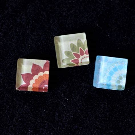 glass tile pendant design ideas sugar bee crafts