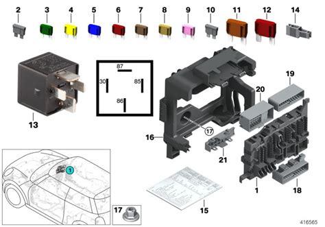 F56 Fuse Box realoem bmw parts catalog