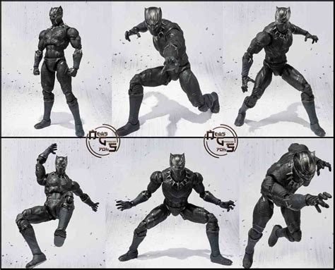 jual shf black panther civil war marvel di lapak oni nendo