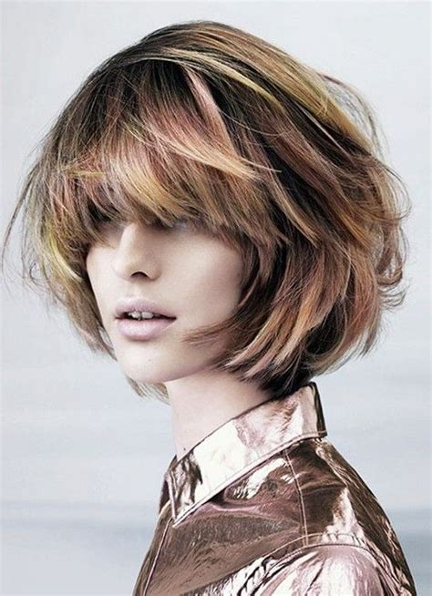 messy bob hairstyles   pretty designs