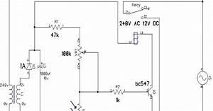 Rangkaian Kontrol Lampu Otomatis