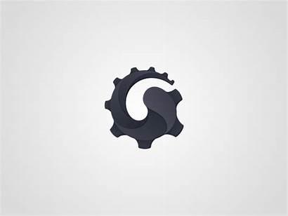 Gear Animation Cms Dribbble Portfolio Short