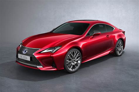 lexus reveals  rc coupe updated  paris motor show