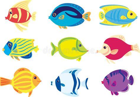 clipart pesci pesci tropicali illustrazione vettoriale illustrazione di