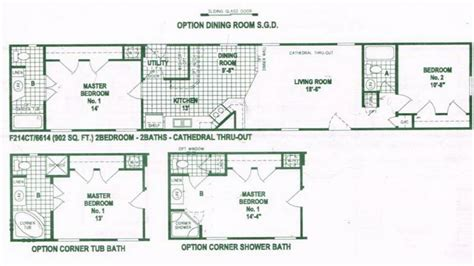 single floor plans single wide mobile home floor plans used single wide
