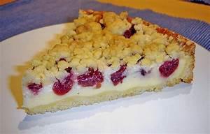 Kirschkuchen Blech Pudding : pudding streusel kuchen rezept mit bild von stetim ~ Lizthompson.info Haus und Dekorationen
