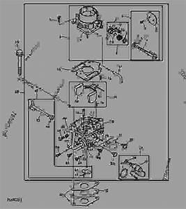 Carburetor  Marked 56030   Manual Choke  - Progator John Deere 2020 - Progator