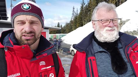 Pasaules Čempions skeletonā - Martins Dukurs un viņa treneris - Dainis Dukurs - YouTube