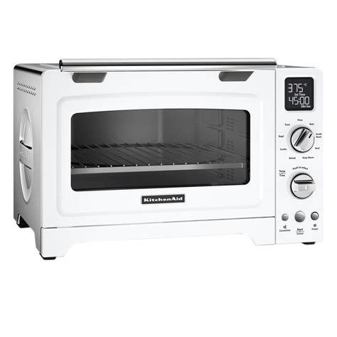 White Digital Toaster Oven kitchenaid white convection toaster oven kco275wh the