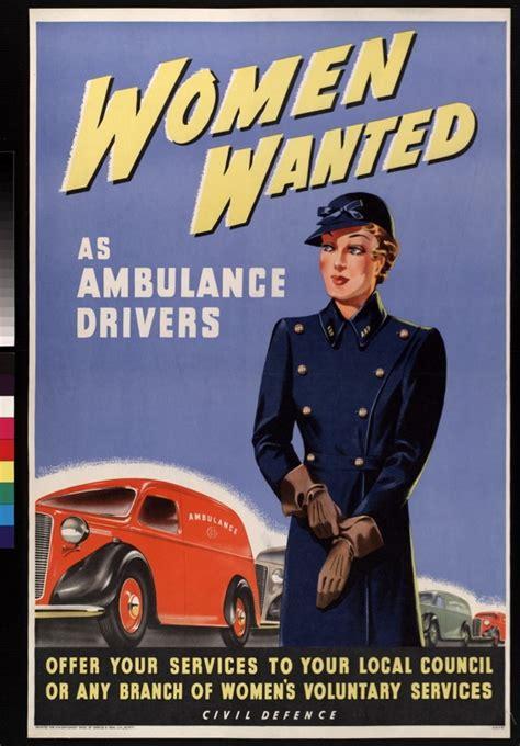 Ambulance In German Meme - women wanted as ambulance drivers uk arp c 1939 1945 history pinterest wwii women s