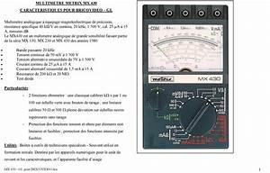 Comment Utiliser Un Multimetre : comment utiliser un multimetre analogique blog sur les voitures ~ Gottalentnigeria.com Avis de Voitures