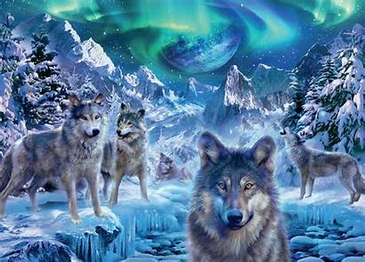 Winter Wolves Puzzle Krasny Jan Patrik Jigsaw