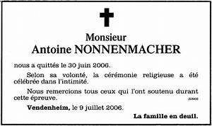 Avis De Deces Aisne : exemple reponse faire part deces ~ Dailycaller-alerts.com Idées de Décoration