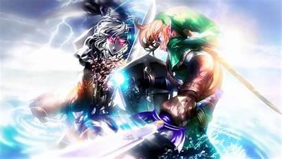 Zelda Link Legend Dark Ocarina Desktop Wallpapers