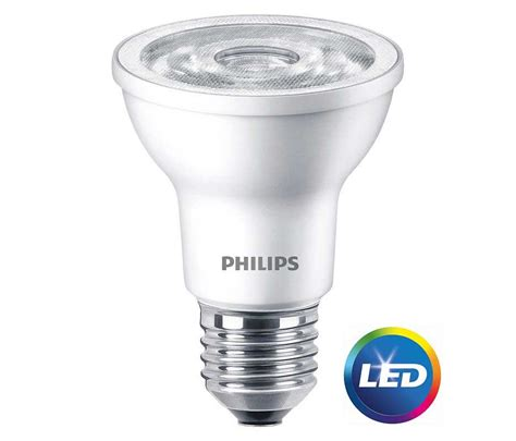 philips led dimmable flood light bulb par20 bright white